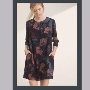 Wilfred Myosotis Abstract Floral Dress